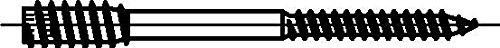 galvanis/é Dresselhaus JD Vis /à distance avec six pans creux SW 4 jaune Lot de 50 6/x 120/mm chrom/é