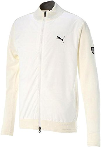 プーマゴルフ フルジップ セーター メンズ 923588 【ブライトホワイト(04)?XLサイズ】