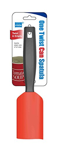 One Twist Can Spatula - REMOVES EVERY LAST DROP FROM SOUP CANS WITH A QUICK TWIST, Also great for cans of sauce, veggies, and more.