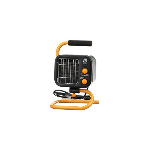 TPI Corporation 178TMC Fan Forced Portable Heater - Ceramic Heating Element, High/Low Fan - UL Listed Fan Heater. Space Heaters