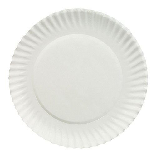 Dixie White Economical Paper Plates