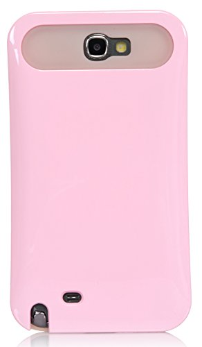 Galaxy Note 2 Case, iSee Case Heavy Duty Dual Layer Hybrid Protective Cover Case for Samsung Galaxy Note 2 II N7100 (Note2-Pastel) (Pink)