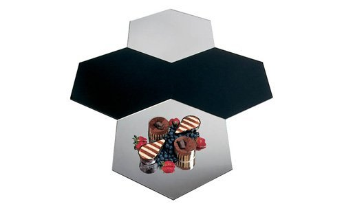 Acrylic Mirror Hexagon by Paderno