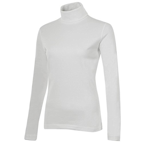 Meister Roll Neck Shirt - Combed Cotton, Long Sleeve (for Women) - ()