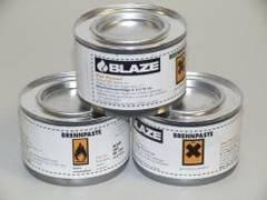 Brennpaste 200g Dose Blaze 200g Brenndauer ca. 2,5Std (72Stück im Karton)