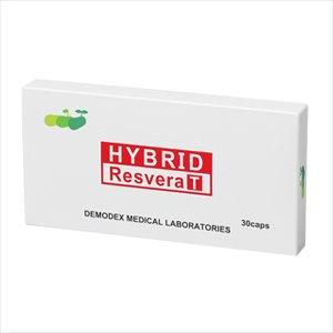 ハイブリッドレスベラT(HYBRID ResveraT) 30カプセル(セット内容:本商品) B0078IAFAM   セット内容:本商品