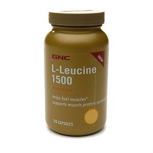 GNC L-Leucine 1500, capsules, 120 ch
