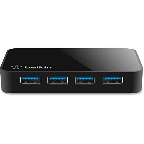 Belkin F4U058TT SuperSpeed USB 3.0 4-Port Hub Black from Belkin