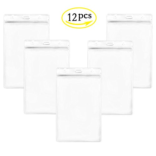 LGEGE 12PCS Clear frosted Extra Large 6x4