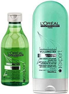 Loreal Volumetry Anti-Gravity Effect Volume Shampoo 8.5 oz & Conditioner 5 oz ()
