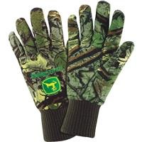 Lined Camo Jersey Glove