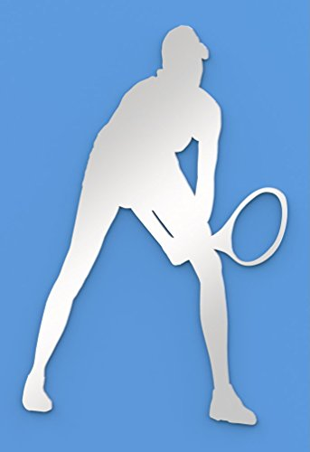 Paranoid Penguin Tennis Player Mirror, Including Sets for Crafting Kits - 35cm x 25.5cm ()