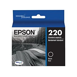 Epson DURABrite Ultra Ink T220 Ink Cartridge - Black