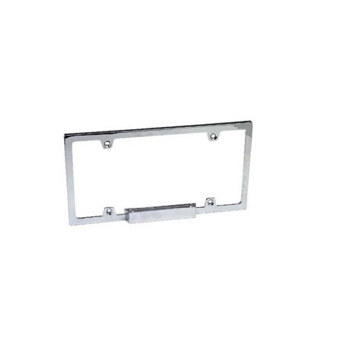IPCW CWL-AL64 Billet License Plate Frame with Light - 1 Piece (Billet License Plate)