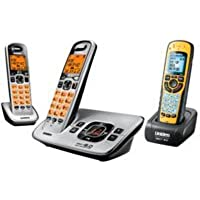 Uniden D16803 / D1680-3X / D1680-3X DECT 6.0 Cordless Phone with Digital Answering System 1 HAND SET WATER PROOF
