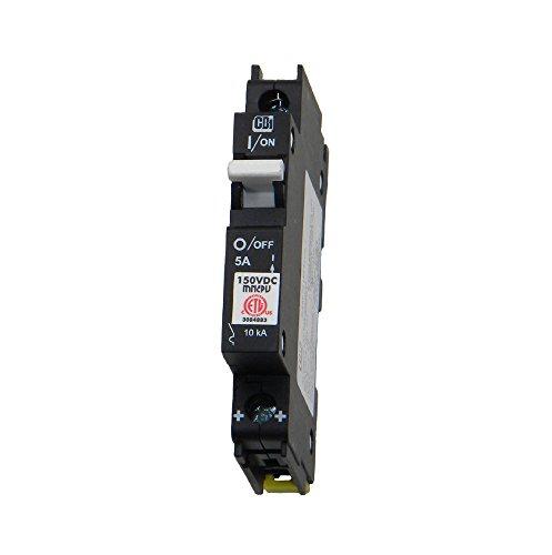 Pv Breaker (Din Rail Mount Combiner PV Breaker - 5 Amp, 150 Volt DC, | MNEPV5)