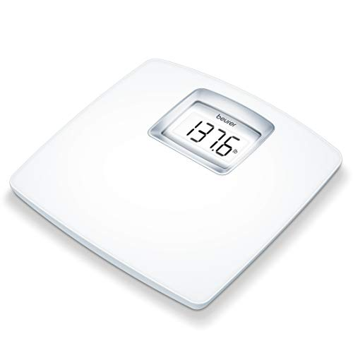 Beurer PS25 Personal Bathroom Scale | Smart & Accurate Body Weight Control | XL Scale with Illuminated LCD Display, high…