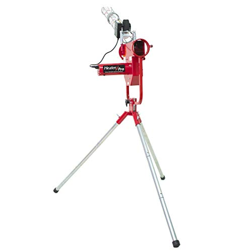 Heater Sports Pro Curve Pitching Machine with Ball Feeder (Renewed)