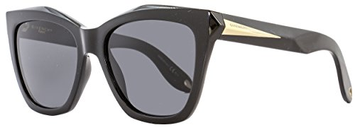 Givenchy 7008/S QOL Black 7008/S Square Sunglasses Lens Category 3 Size 53mm