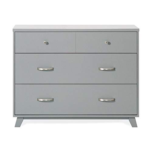 Forever Eclectic by Child Craft SOHO 3-Drawer Dresser, Cool Gray by Childcraft