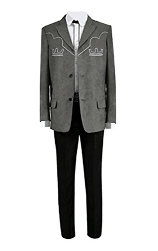 Price comparison product image Xiao Maomi Mens Cosplay Costume Villain Halloween Suits Blazer Full Set (M, Picture Color)