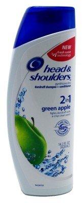 Head & Shoulders Shampoo Green Apple 2-In-1 14.2oz