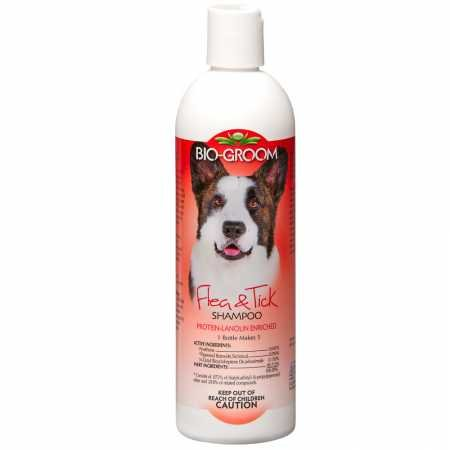 Bio-groom Flea and Tick Dog/Cat Conditioning Shampoo, - Biogroom Cat Shampoo