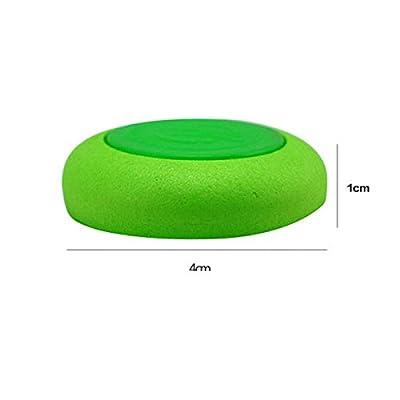 VORCOOL 10pcs Soft Disc Bullet Refill Blaster Darts Toy Gun for Nerf Vortex Praxis Vigilon (Green): Kitchen & Dining