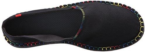 Sandalo Nero Di Scarpa Havaianas Dettagli Delle Origine Tela Di Donne Bianco wqUzqR8