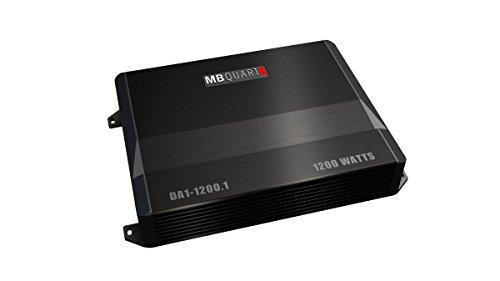 MB Quart DA1-1200.1 Discus Amplifier, 1-Channel 1200-Watt