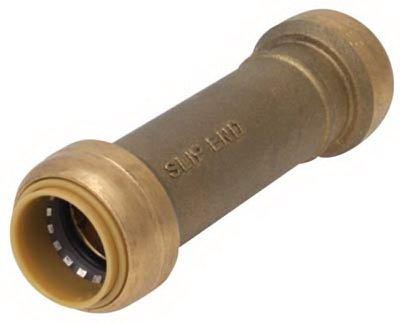 Reliance Worldwide U3008LFA 1/2 x 1/2-In. Slip Pipe Coupling, Lead-Free