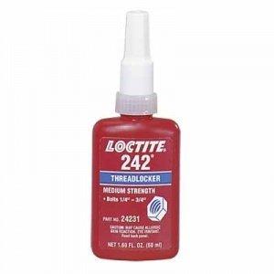 Loctite 24231 Threadlocker 242 Removable - 50 Ml Bottle 2 PACK
