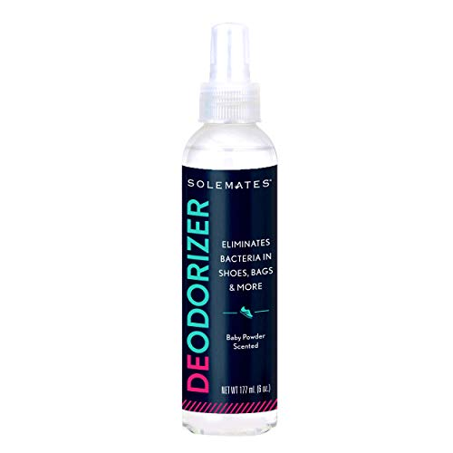 - Solemates Shoe Deodorizer - Eliminates Odor, Extra Strong Shoe Spray Made with Natural Ingredients
