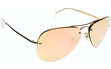 1a2b3422d3a80 METAL UNISEX AUTHENTIC RAY BAN HIGHSTREET RB3449-001-2Y 100% UV MADE ...