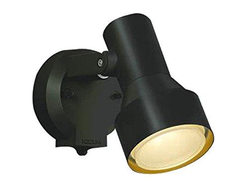 コイズミ照明 人感センサ付スポットライト タイマー付ON-OFFタイプ 散光 白熱球100W相当 黒色塗装 AU40622L B00KVWKR1Y 16002