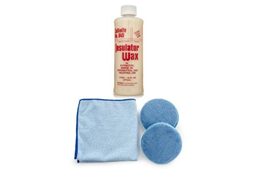 Collinite 845 Insulator Wax Microfiber Towel and Applicator Combo