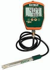 Extech PH220-C Palm pH Meter with Cabled Electrode