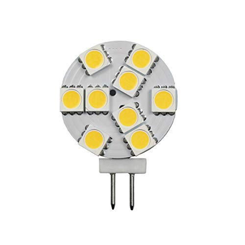 LED-G4WAF-1W-4K Cool White 4000K - Volts: 12V, Watts: 1.5W, Type: LED G4