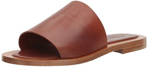 CHARLES DAVID Women's Casey Slide Sandal, Cognac, 6 M US