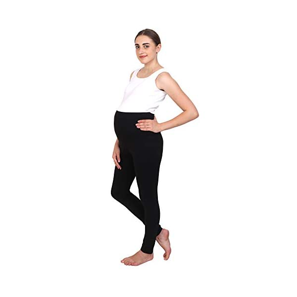 Best Organic Cotton Stretchable Maternity Leggings Online India