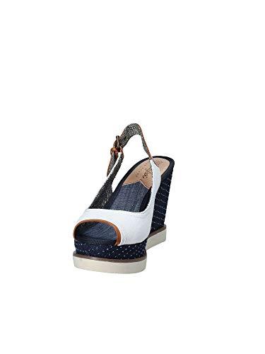 Donna Zeppa Sandalo Wrangler Bianco Wl181682 qwA14n8X