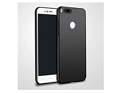 new concept 8fbf9 0be2d Mi A1 Soft Silicon Smooth Texture Feel Back Cover Case: Amazon.in ...