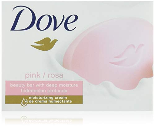 Dove Beauty Bar, Pink, 4 oz, 6 Count, (Pack of 2)