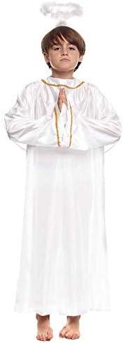 Disfraz de Ángel infantil para Navidad 10-12 años