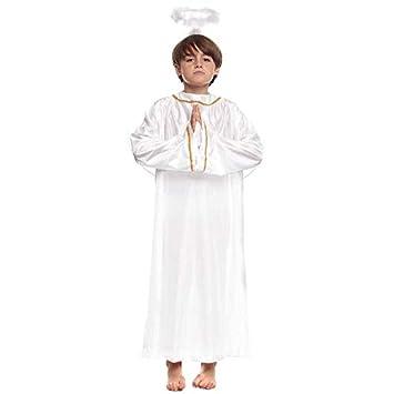 Disfraz de Ángel infantil para Navidad 7-9 años