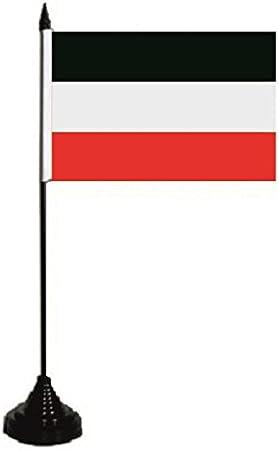 U24 mesa bandera del Imperio Alemán Bandera Bandera de mesa 10 x 15 cm: Amazon.es: Jardín