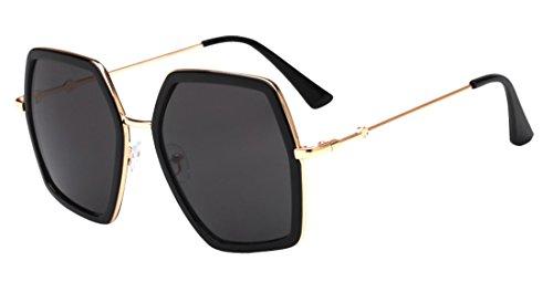 Fashion Gafas Sunglasses anti Irregular Color3 de sol Tide Eyewear Unisex HD ultravioleta Polaroid JYR qwtn0pFH