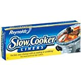 "Reynolds Metals 00504 Slow Cooker Liners 13""X21"""