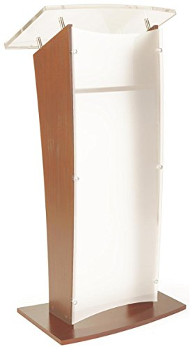 displays2go-wood-podium-frosted-acrylic-front-panel-4875-tall-interior-shelf-maple-cvwdlctmpf