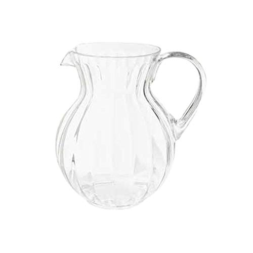Tahiti Pitcher - GET P-4090-PC-CL Plastic Tahiti Pitchers, 90 Oz, Case of 1 Dozen